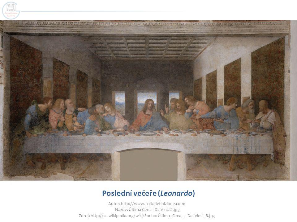 Poslední večeře (Leonardo)
