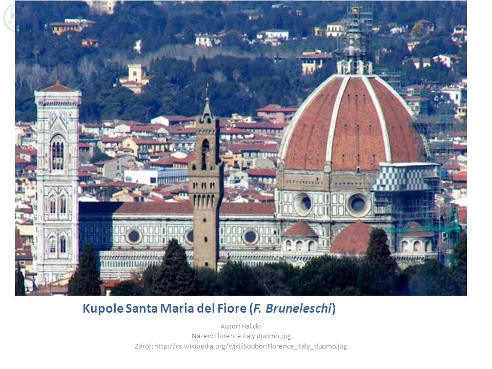 Kupole Santa Maria del Fiore (F. Bruneleschi)