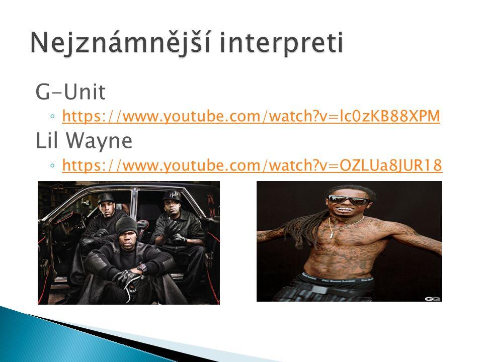 Nejznámnější interpreti