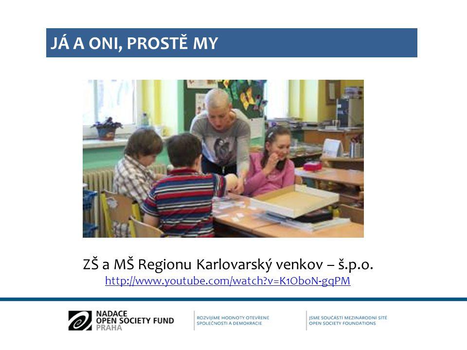ZŠ a MŠ Regionu Karlovarský venkov – š.p.o.