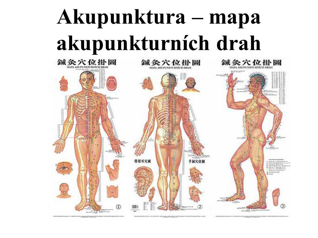 Akupunktura – mapa akupunkturních drah