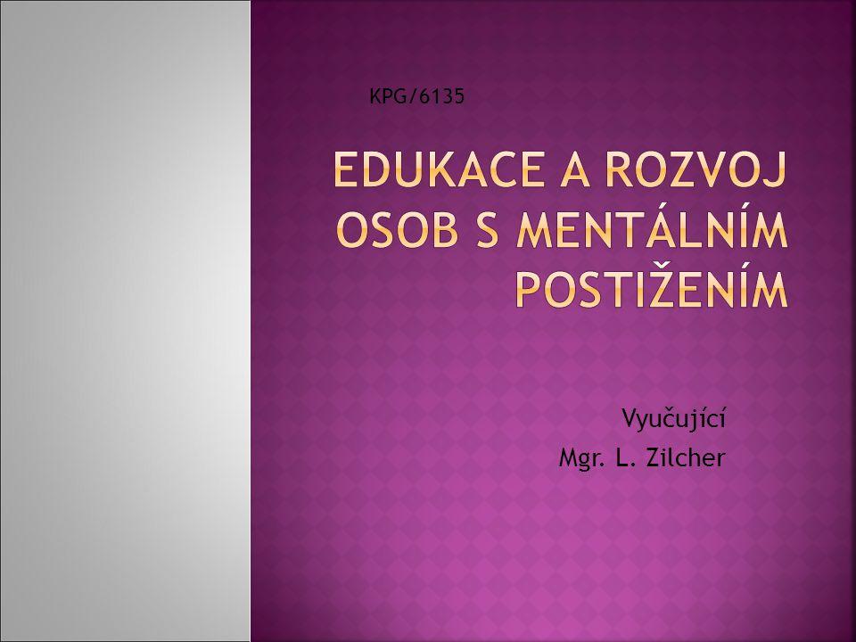 Edukace a rozvoj osob s mentálním postižením