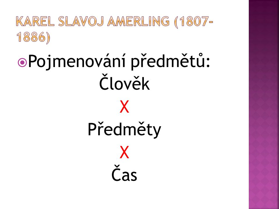 Karel slavoj amerling ( )