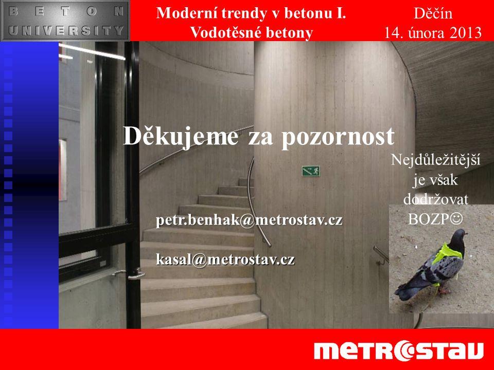Moderní trendy v betonu I.