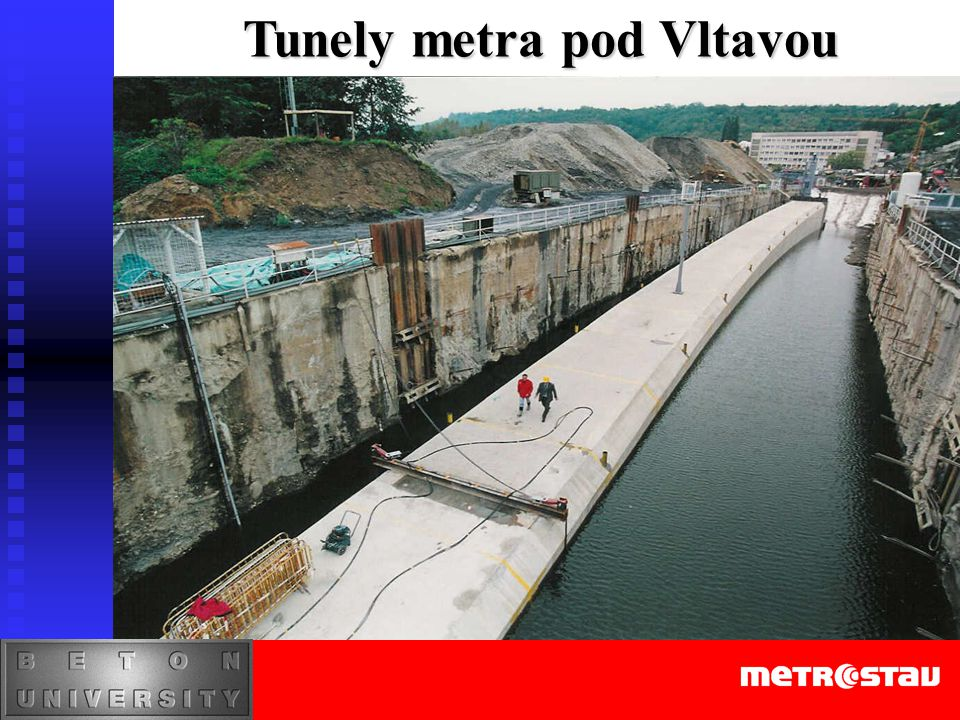 Tunely metra pod Vltavou