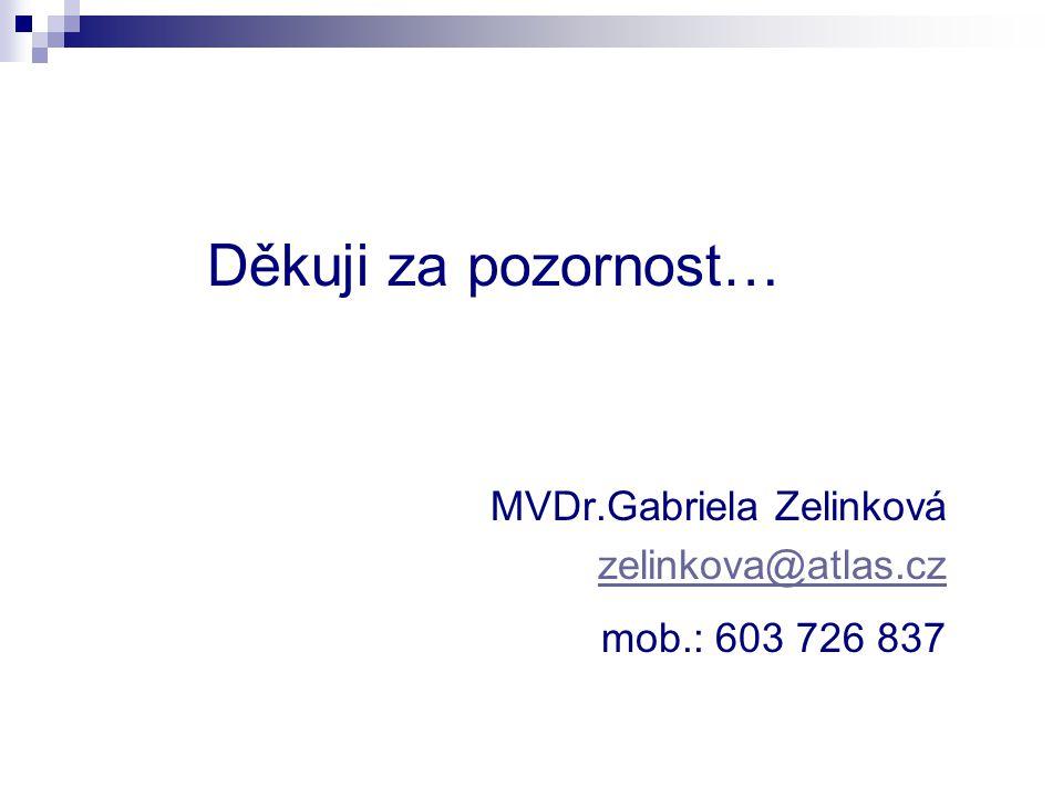 MVDr.Gabriela Zelinková