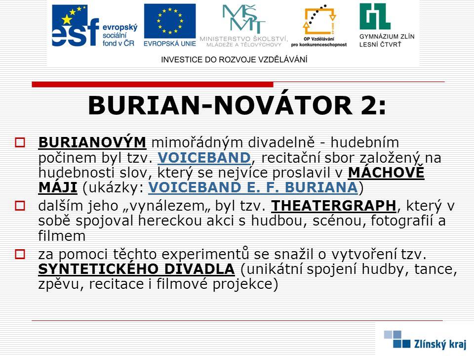 BURIAN-NOVÁTOR 2: