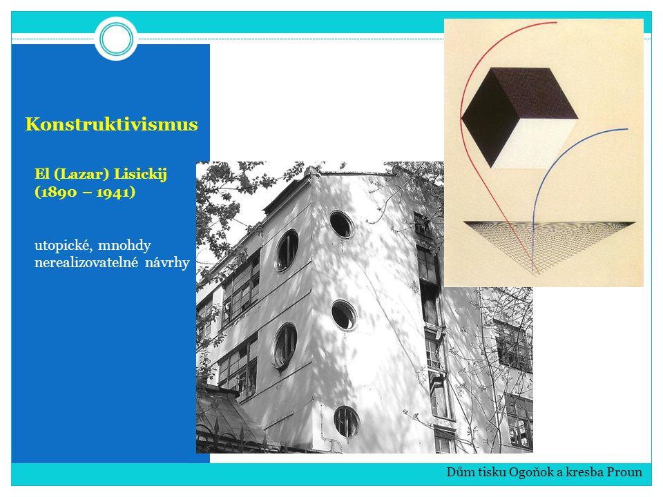 Konstruktivismus El (Lazar) Lisickij (1890 – 1941)