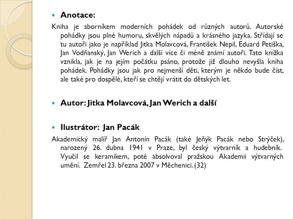 Autor: Jitka Molavcová, Jan Werich a další