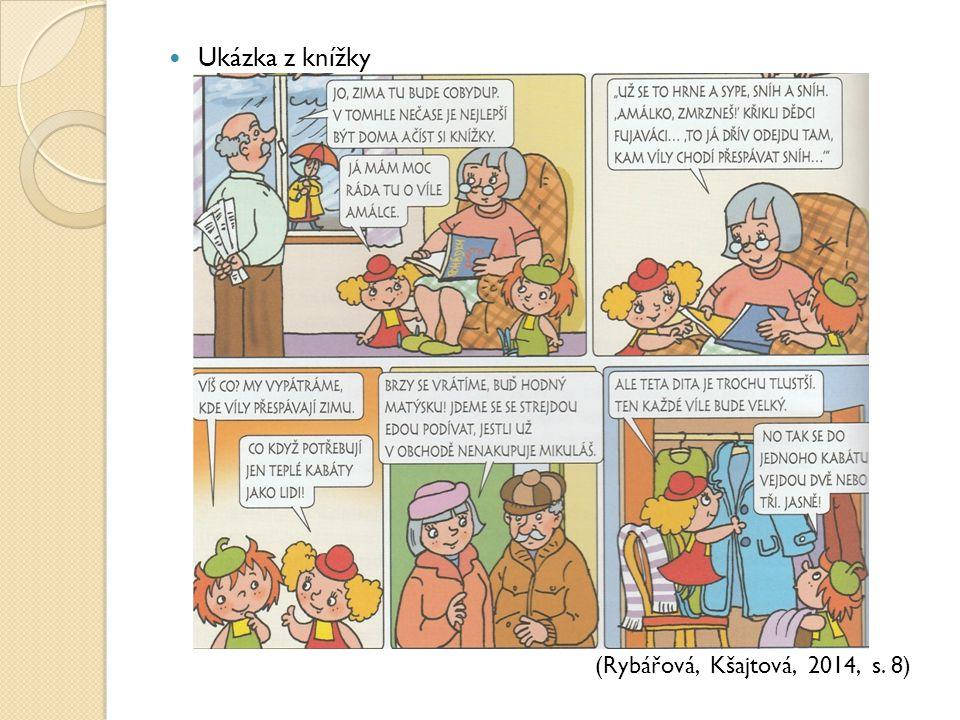 Ukázka z knížky (Rybářová, Kšajtová, 2014, s. 8)