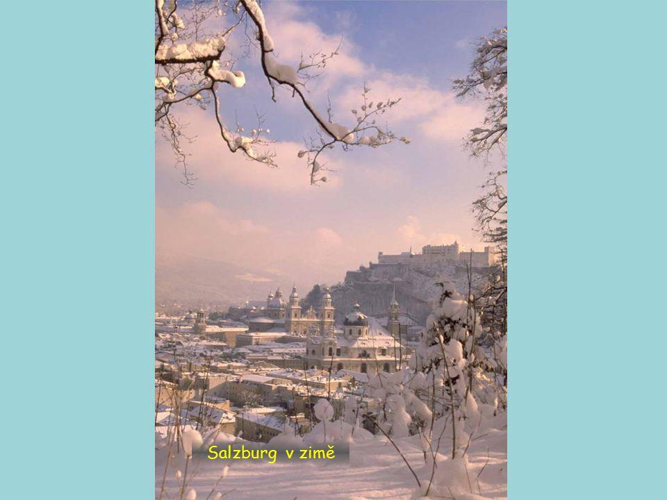 Salzburg v zimě