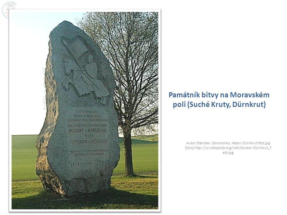 Památník bitvy na Moravském poli (Suché Kruty, Dürnkrut)