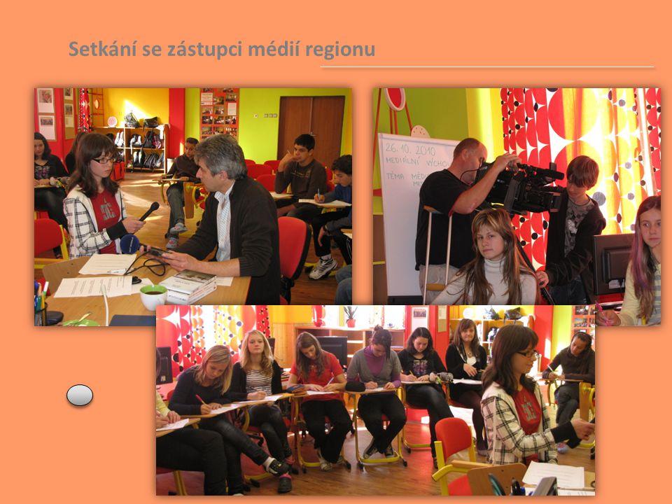 Setkání se zástupci médií regionu