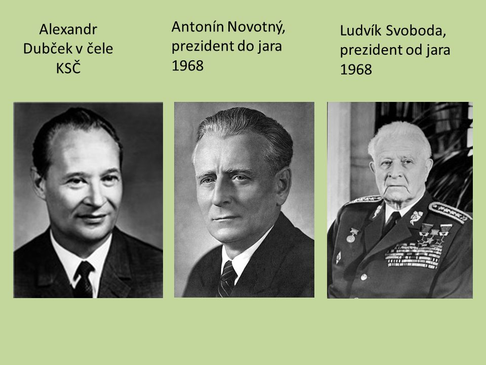 Alexandr Dubček v čele KSČ