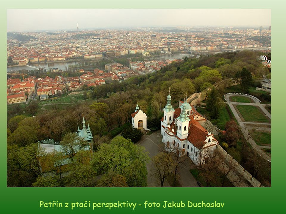 Petřín z ptačí perspektivy - foto Jakub Duchoslav