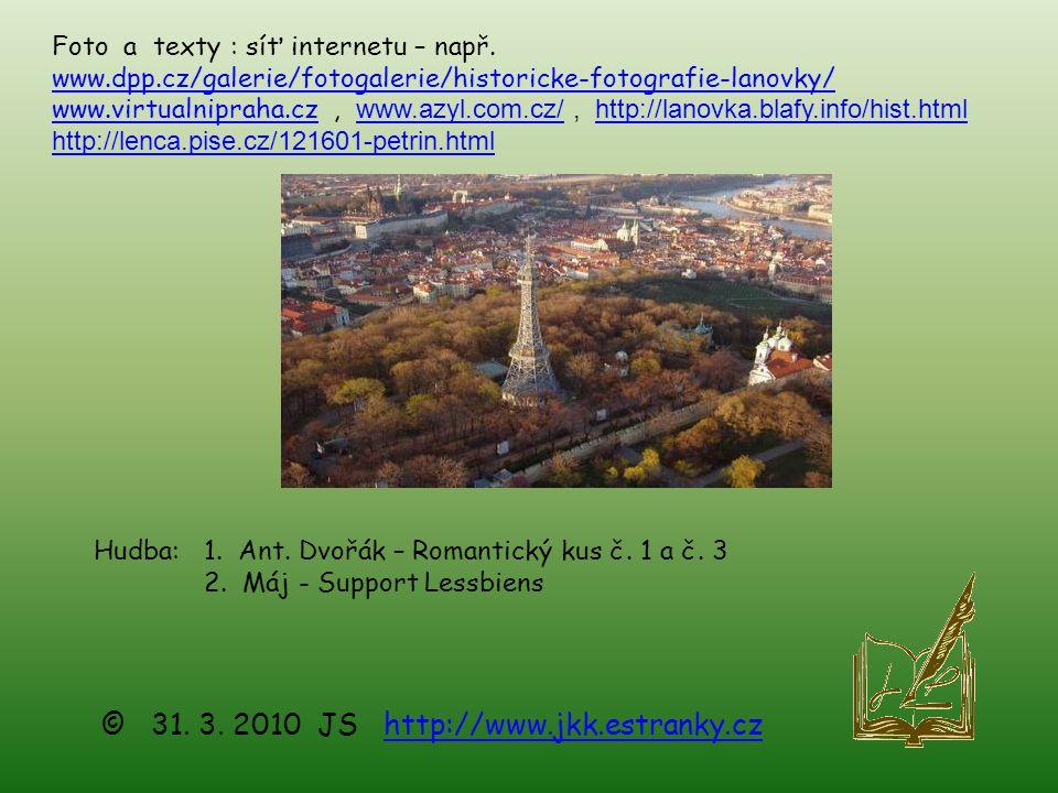 © 31. 3. 2010 JS http://www.jkk.estranky.cz