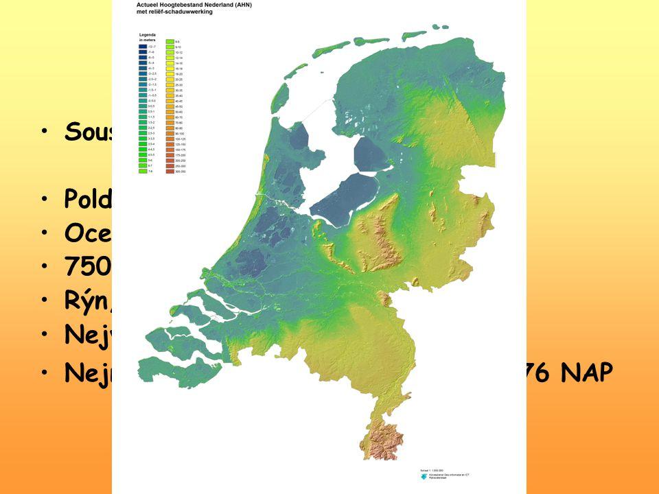 Geografie Sousedé: Severení moře, Německo, Belgie, Lucembursko