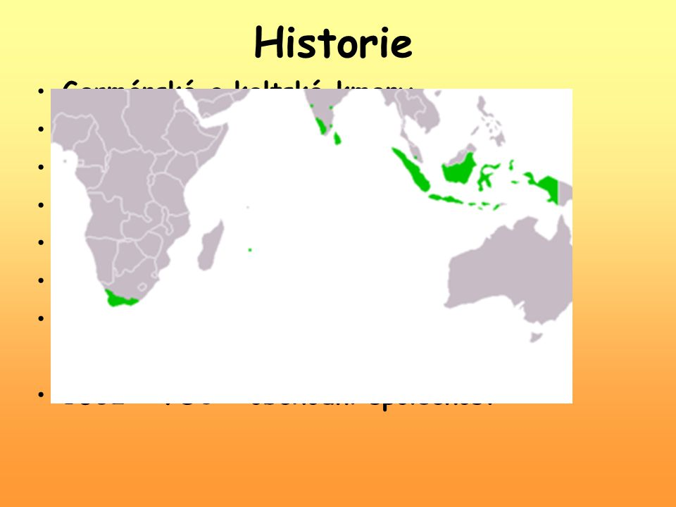 Historie Germánské a keltské kmeny 10.st. – rozdrobení na knížectví