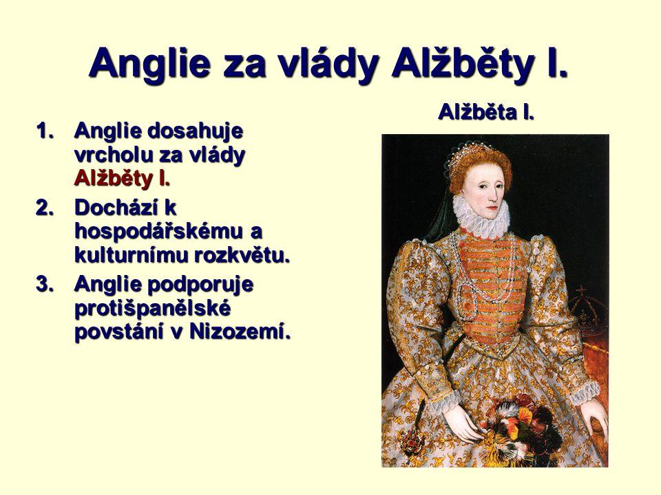 Anglie za vlády Alžběty I.