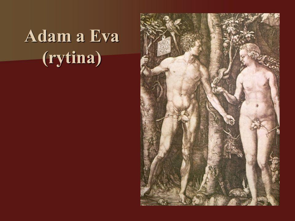 Adam a Eva (rytina)