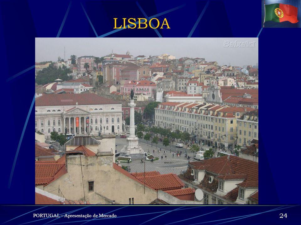 LISBOA PORTUGAL – Apresentação de Mercado 24