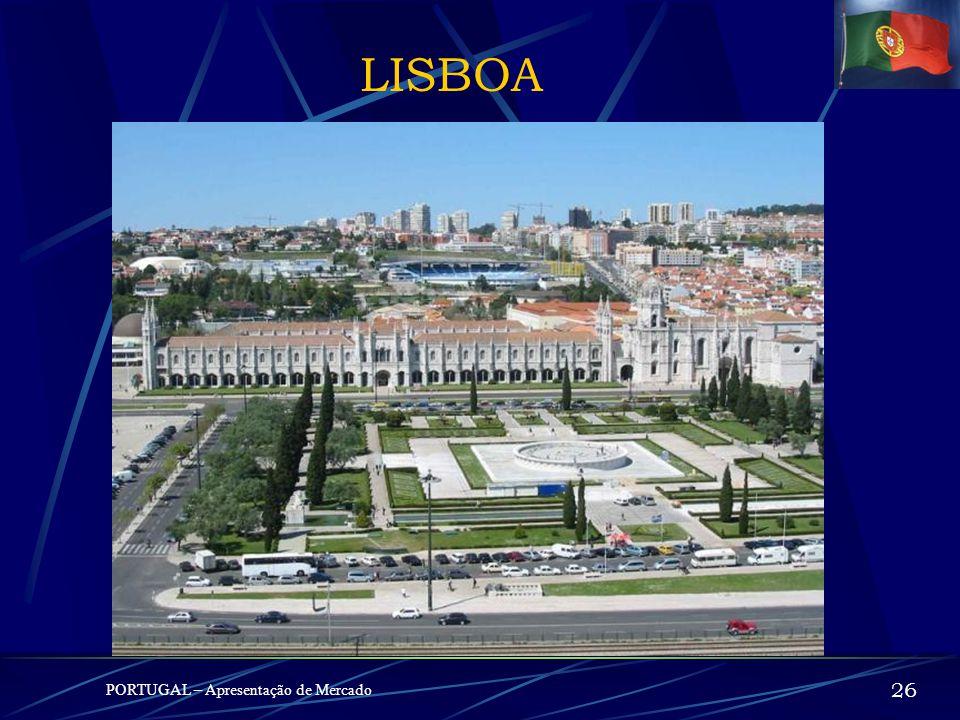 LISBOA PORTUGAL – Apresentação de Mercado 26