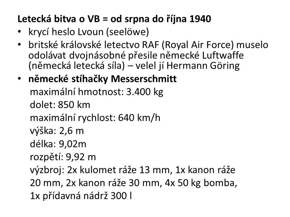Letecká bitva o VB = od srpna do října 1940
