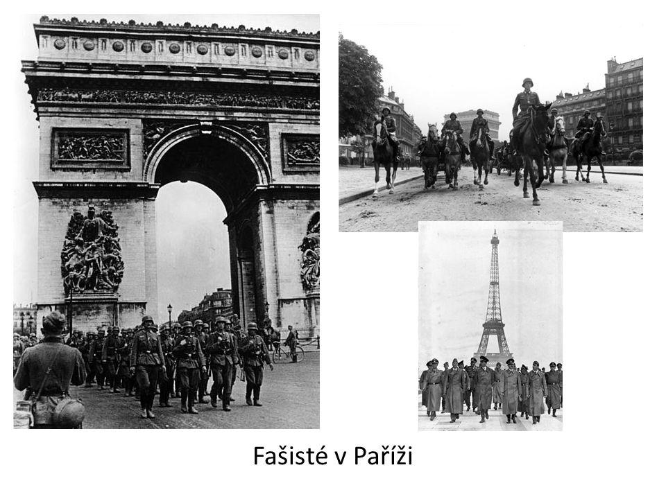 Fašisté v Paříži
