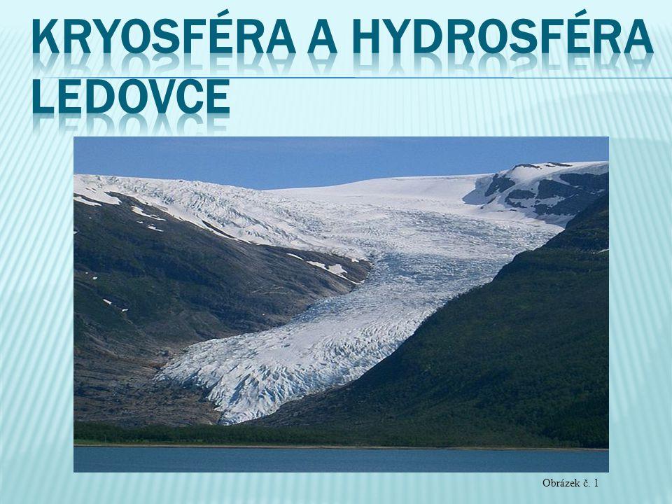 Kryosféra a Hydrosféra Ledovce