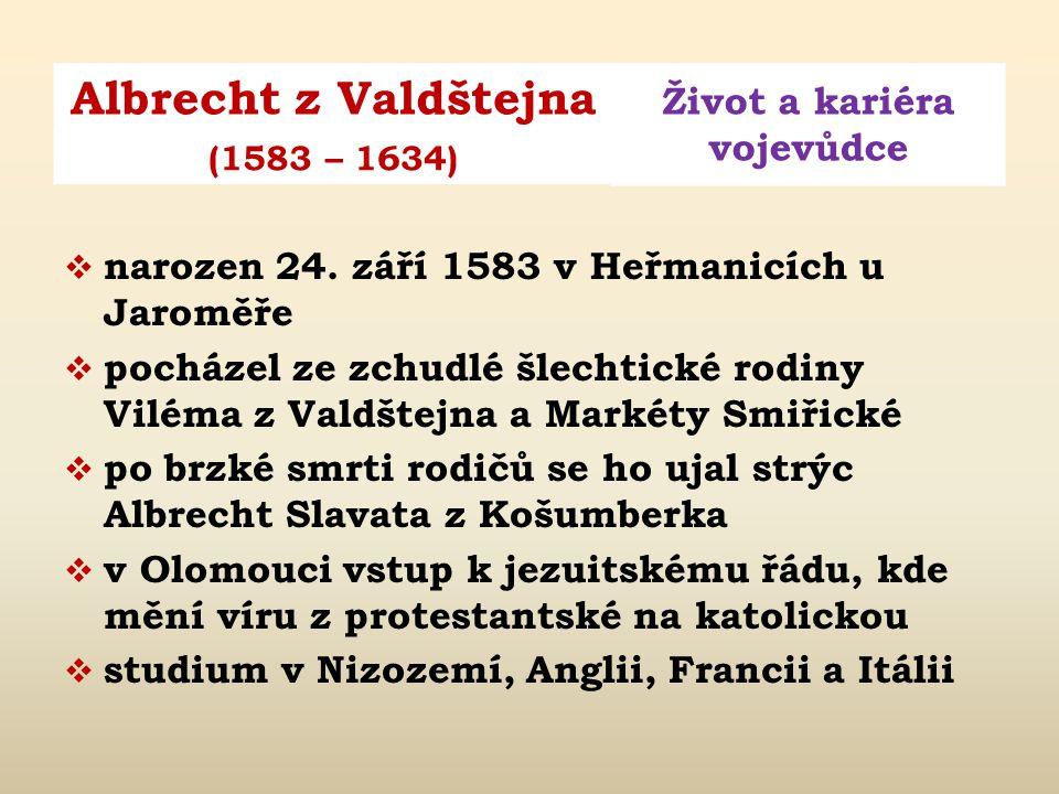 narozen 24. září 1583 v Heřmanicích u Jaroměře
