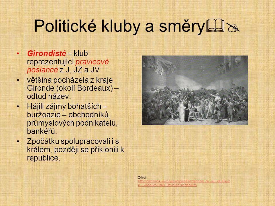 Politické kluby a směry