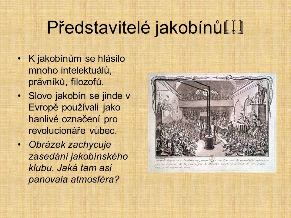 Představitelé jakobínů