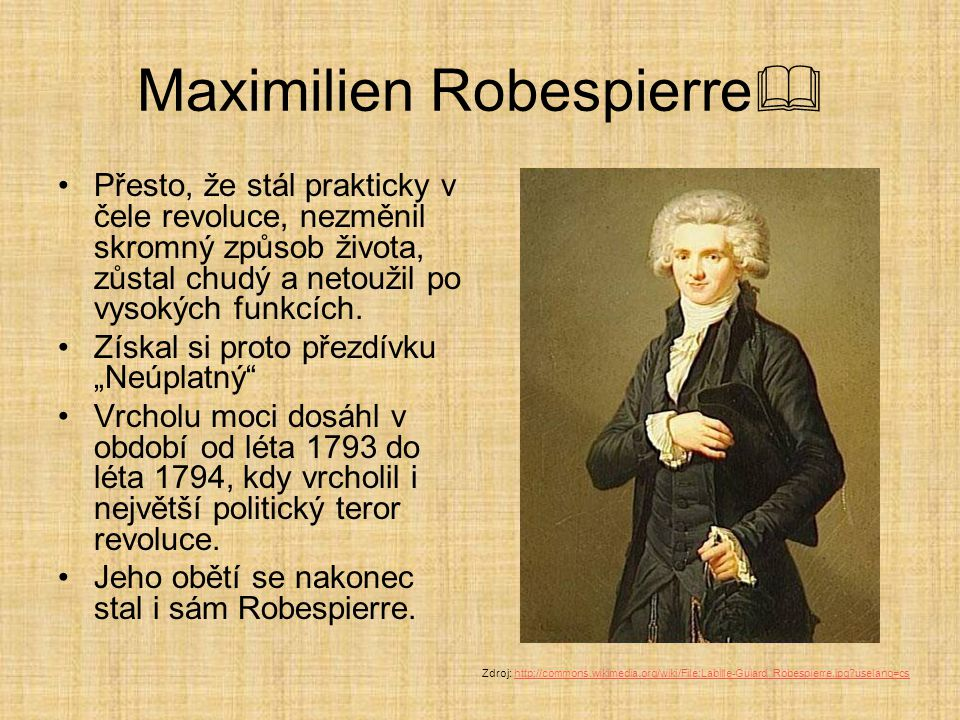 Maximilien Robespierre