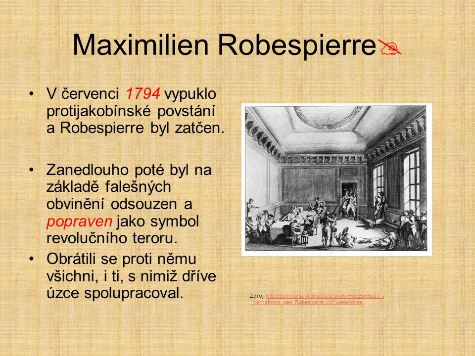 Maximilien Robespierre