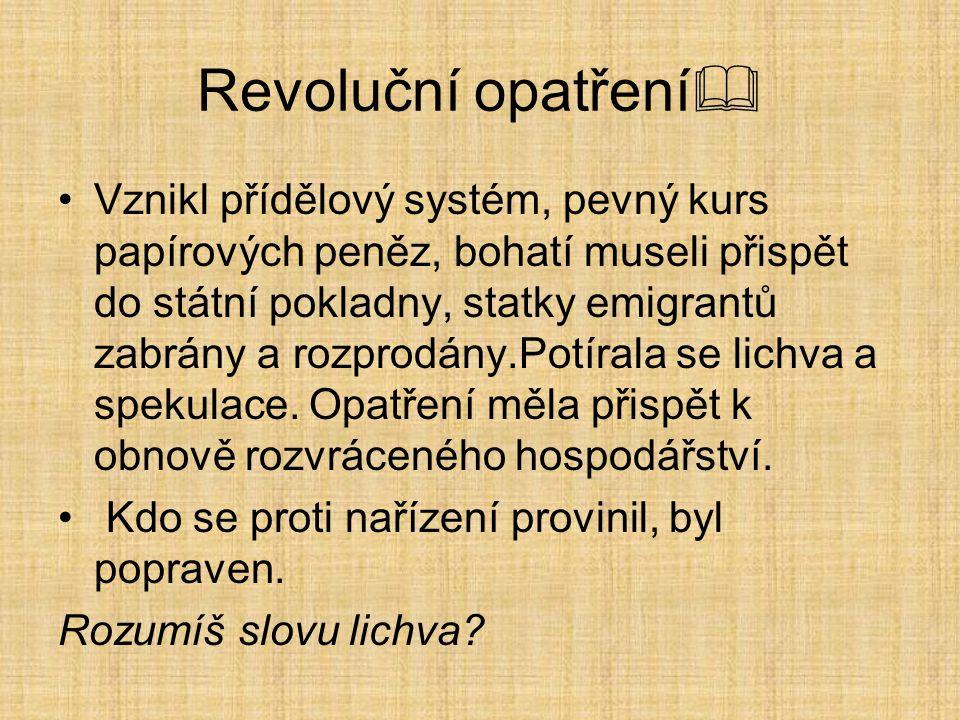 Revoluční opatření