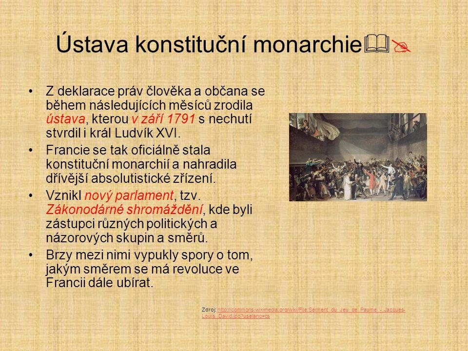 Ústava konstituční monarchie