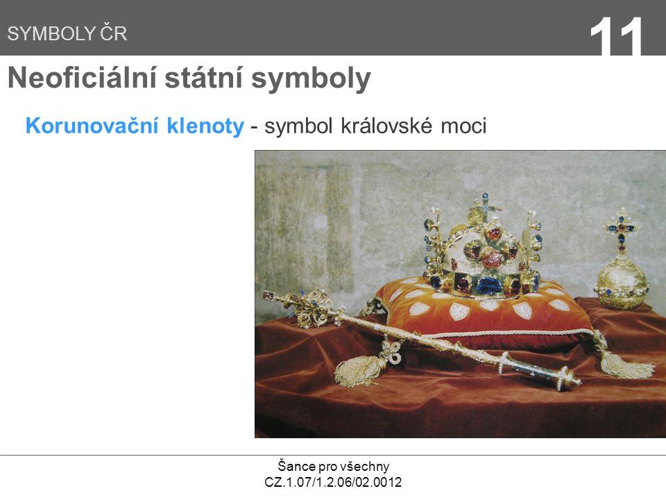 11 Neoficiální státní symboly