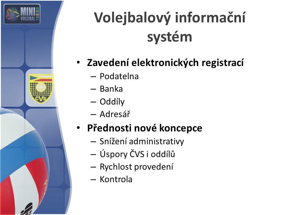 Volejbalový informační systém