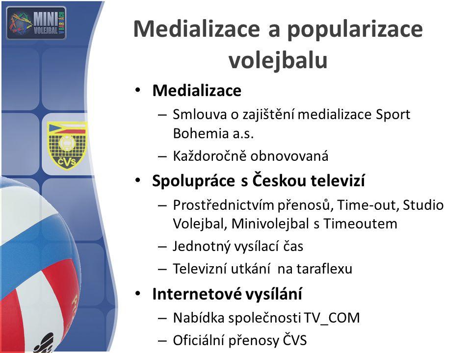 Medializace a popularizace volejbalu
