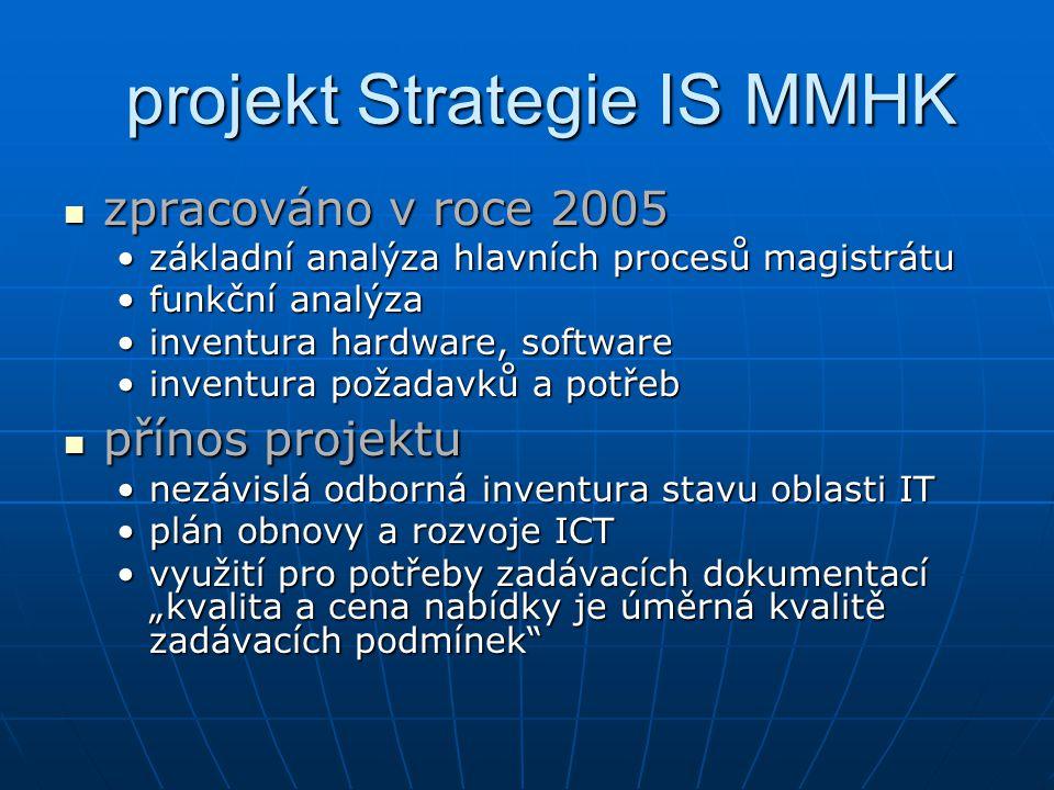 projekt Strategie IS MMHK