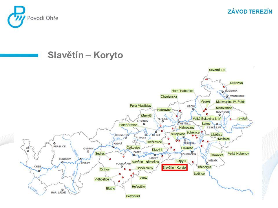 ZÁVOD TEREZÍN Slavětín – Koryto