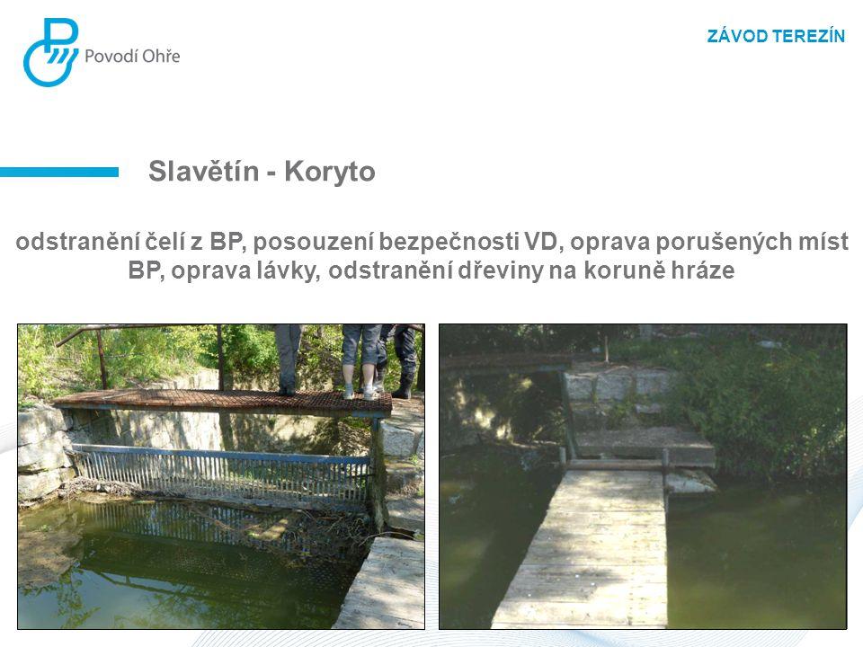 ZÁVOD TEREZÍN Slavětín - Koryto.