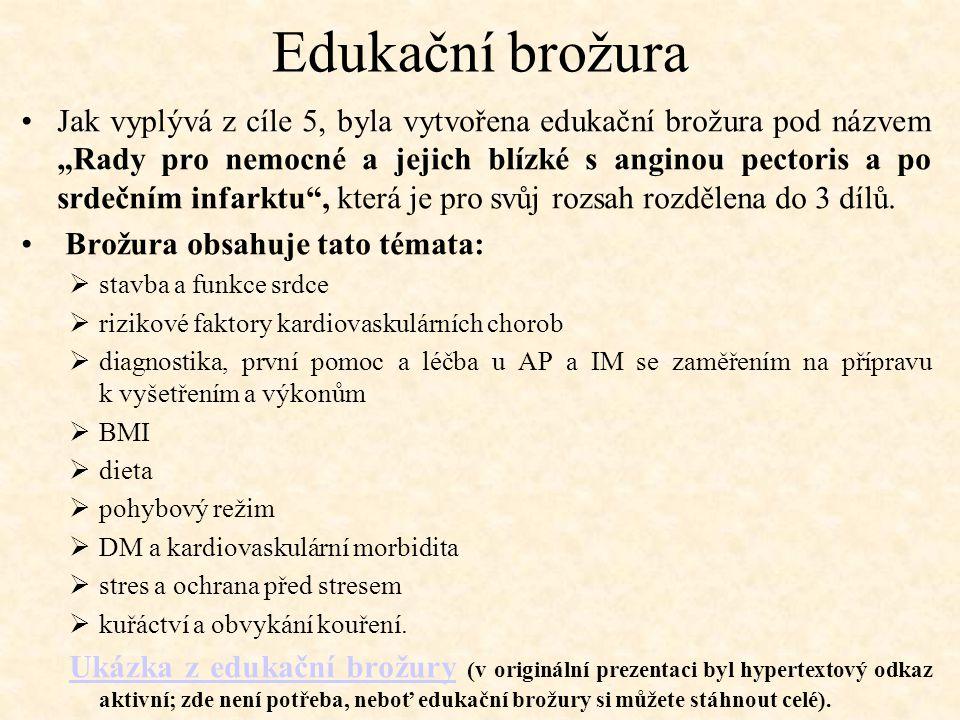 Edukační brožura