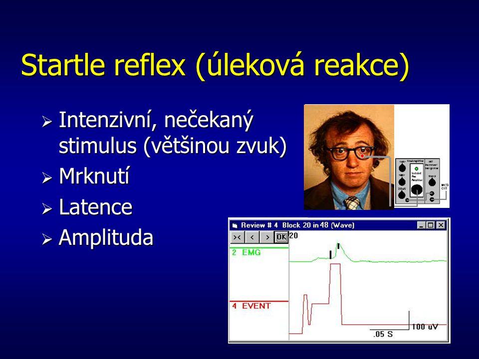 Startle reflex (úleková reakce)