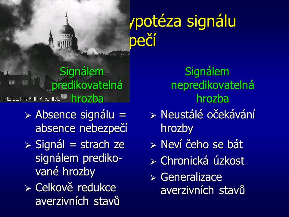 Seligmanova hypotéza signálu bezpečí