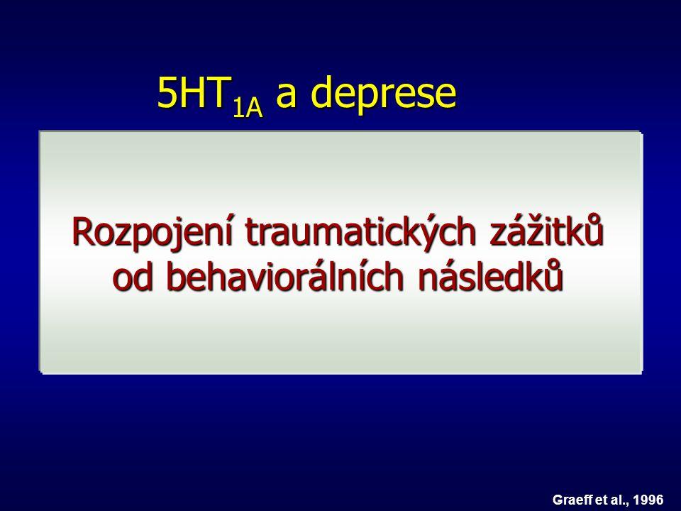Rozpojení traumatických zážitků od behaviorálních následků