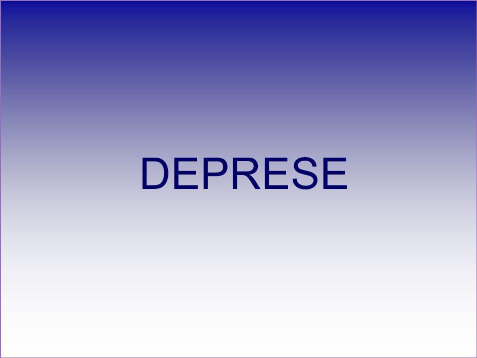 DEPRESE Příznaky deprese Depresívní nálada