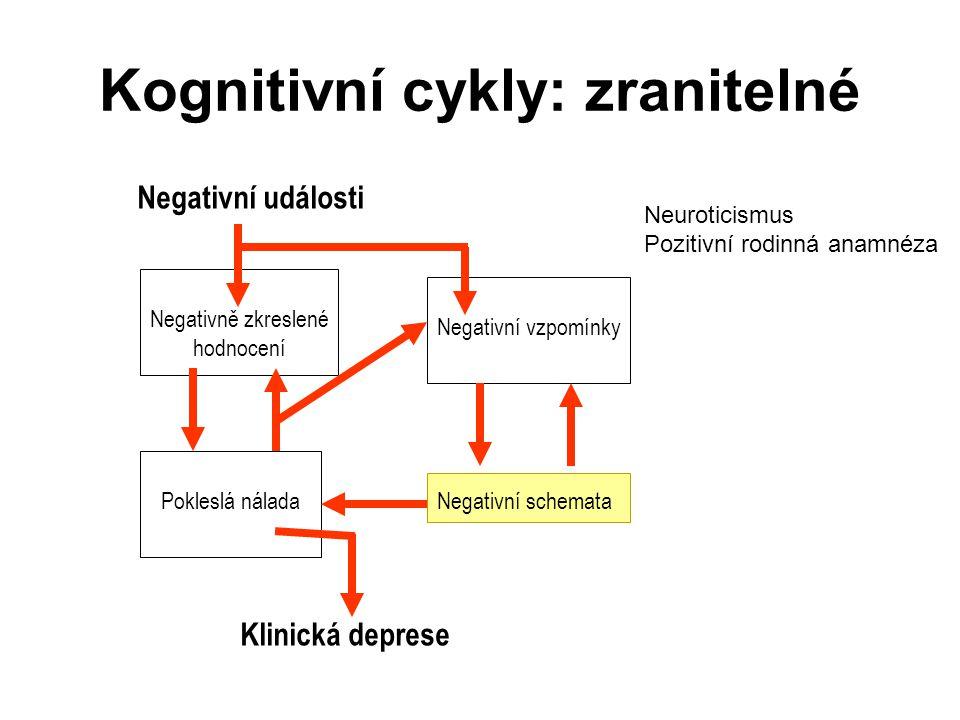Kognitivní cykly: zranitelné
