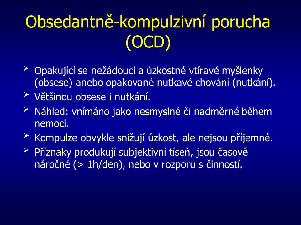 Obsedantně-kompulzivní porucha (OCD)
