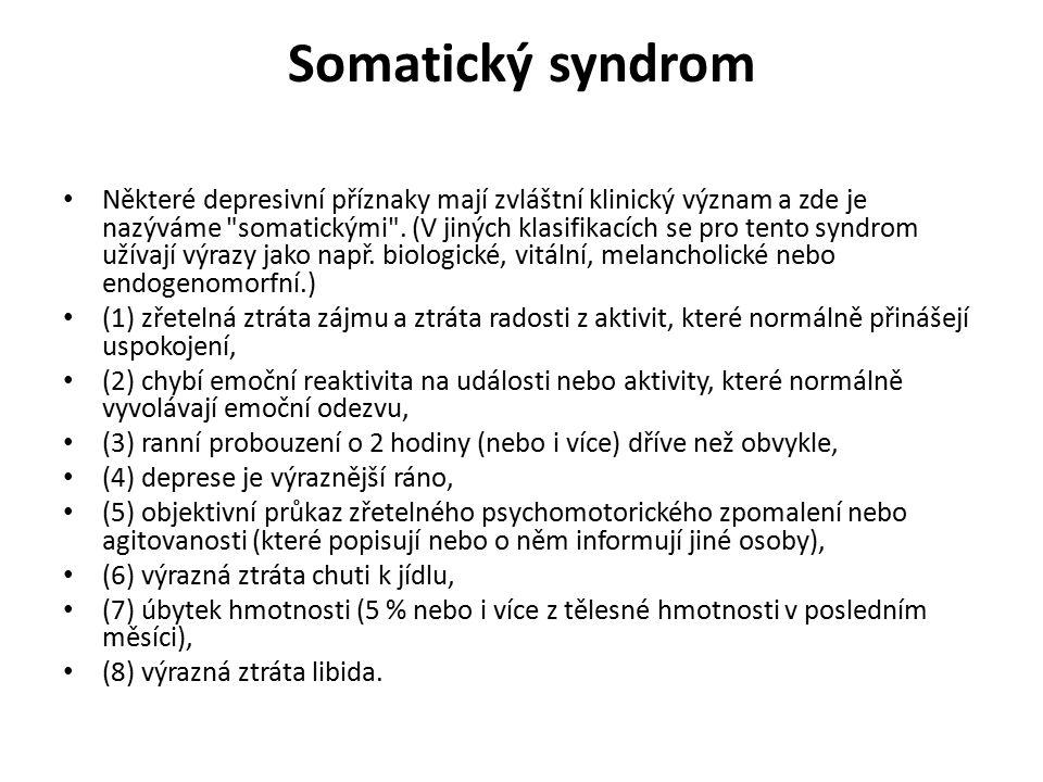 Somatický syndrom